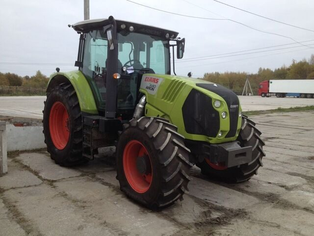 Новый трактор CLAAS 640 ARION 2014 год